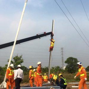 Xây dựng đường dây cao thế 110kv cầu An Hảo – Biên Hòa – Đồng Nai