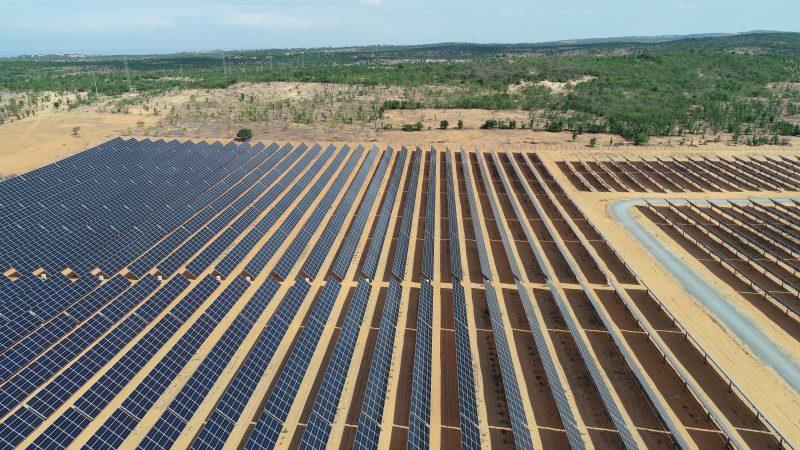 Đây là nhà máy điện năng lượng mặt trời có thời gian thi công ngắn nhất tại Việt Nam