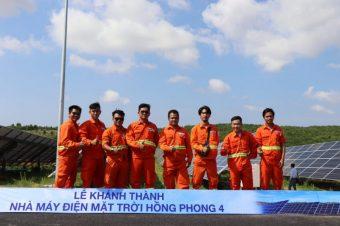 Khánh thành Nhà máy điện mặt trời Hồng Phong 4