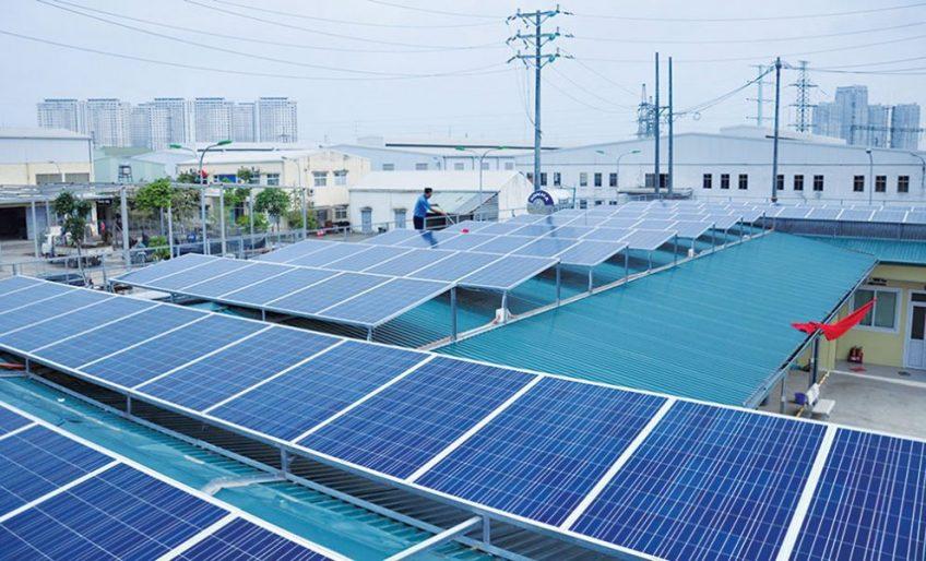 Phát triển điện mặt trời lắp mái