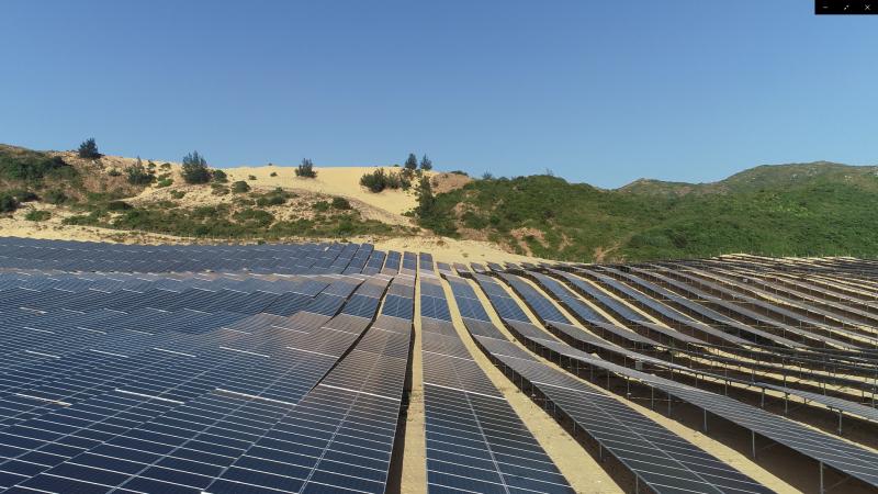 Nhà máy điện năng lượng mặt trời Fujiwara Bình Định