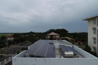 Tiềm năng điện mặt trời áp mái tại Huyện Hóc Môn