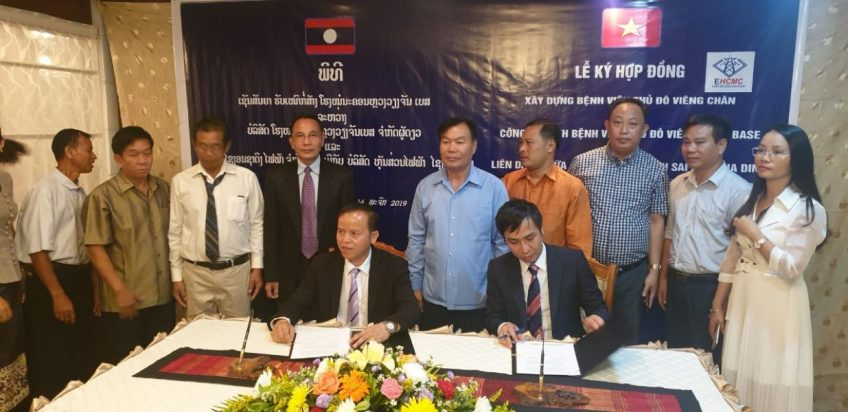 Công ty TNHH Điện Sài Gòn Gia Định (Lào) Xây dựng Bệnh viện Thủ đô Viêng Chăn