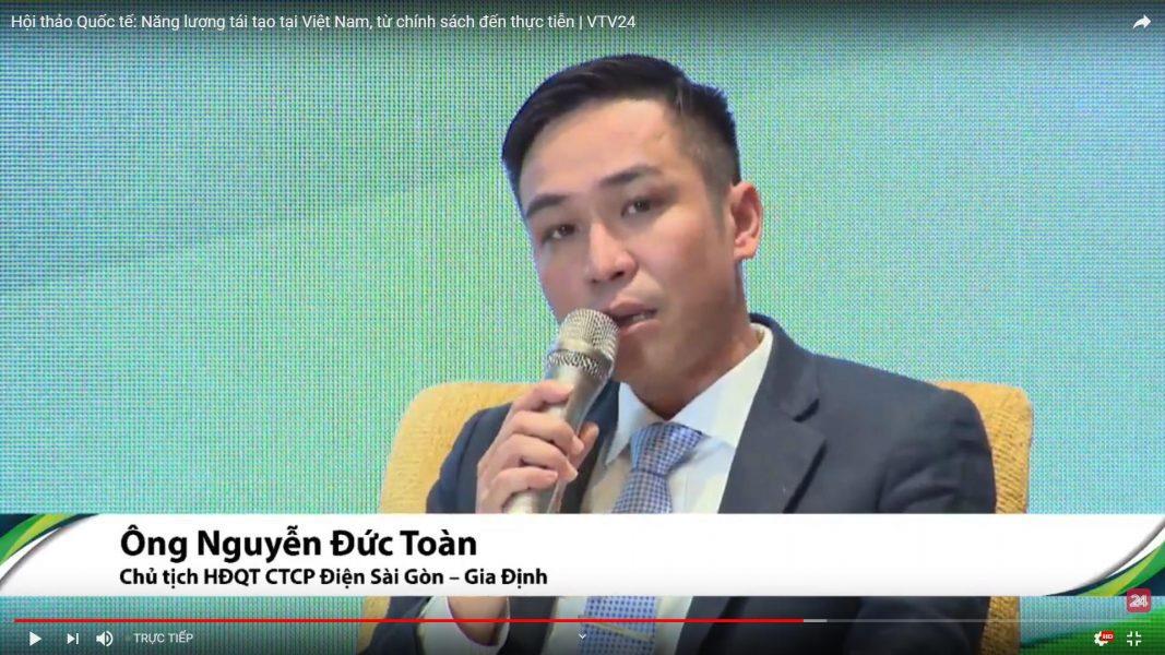 Chủ tịch HĐQT ông Nguyễn Đức Toàn
