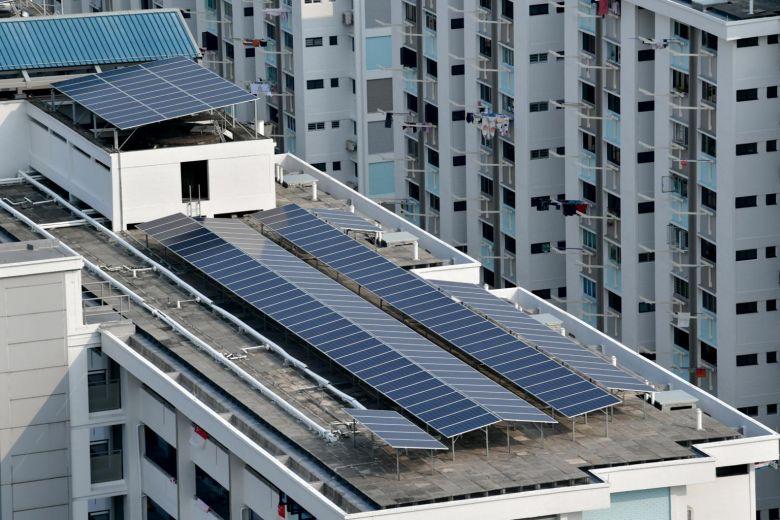 Singapore thúc đẩy sử dụng năng lượng mặt trời