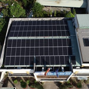 EHCMC rooftop solar power project Tien Giang
