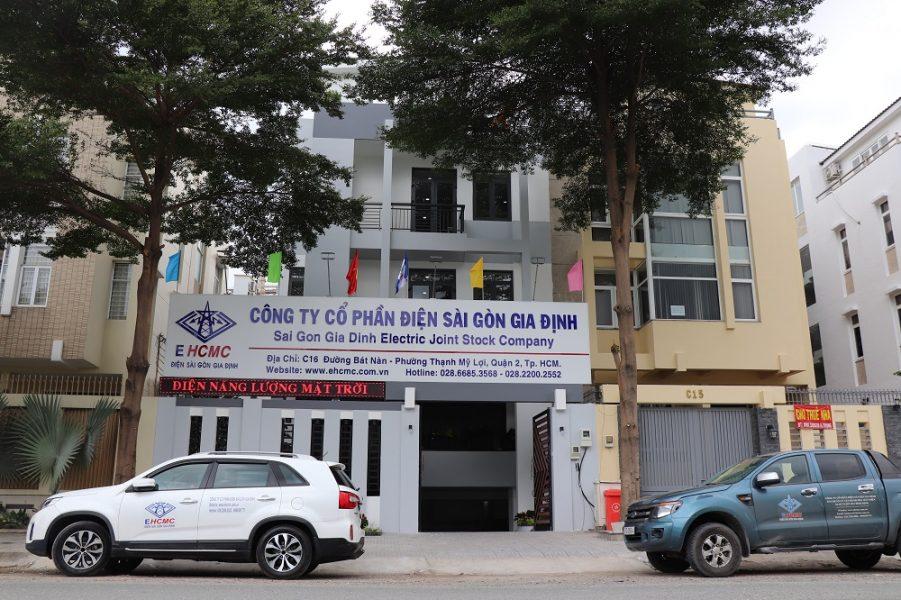 Trụ sở Công ty Cổ phần Điện Sài Gòn Gia Định