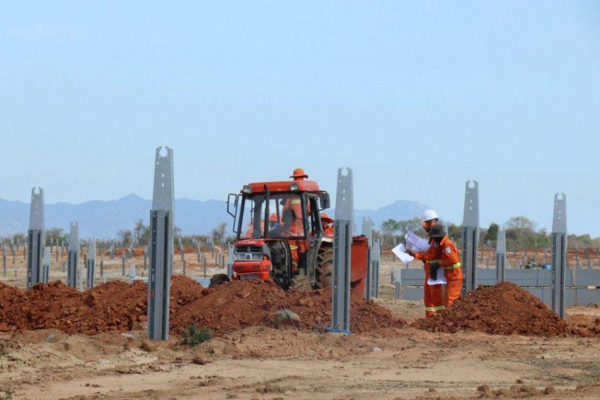 Dự án nhà máy điện mặt trời SP – Infra 1, Ninh Thuận