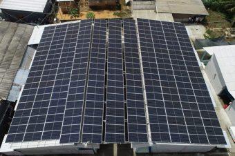 Áp mái điện mặt trời Hợp tác xã nông nghiệp kinh doanh tổng hợp Bình Tây