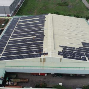 Roof of Kim Tin Solar Power system Factory