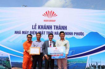 Khánh thành Nhà máy Điện mặt trời Hà Đô – Ninh Phước