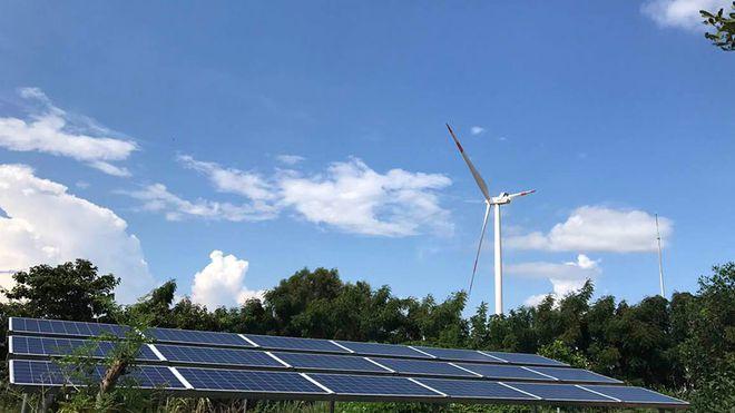 Các dự án năng lượng tái tạo đăng ký đã vượt xa dự kiến cho 2045