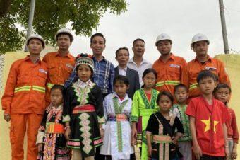 EHCMC mang ánh sáng đến với thầy trò tại Điểm Trường Nậm Ty