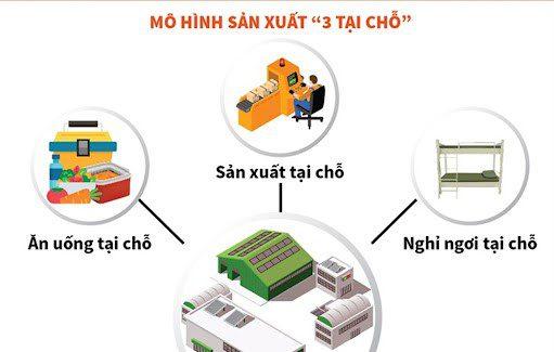 Mô hình 3 tại chỗ được EHCMC thực hiện như thế nào?